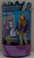 Disney Hannah Montana Miley Cyrus Fleece Throw Blanket