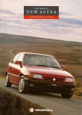 Vauxhall Astra Mk3 1991-92 UK Market Launch 8pp Sales Brochure