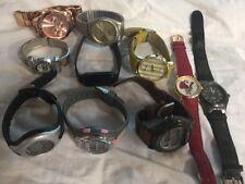 LOT OF 10 Watches - Milan Geneva Casio Timex TGHK - Parts or Repair #630 AK