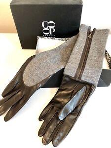 "Super soft Black Long Opera Evening Gloves 100/% Real Leather Women/'s 33.5/"" 85cm"
