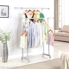 Portant à vêtements portemanteau porte manteau tringle penderie chemise extensib