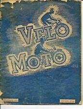 velo moto nov 1951 nombreuses pubs et 5 pages sur les eclairages CIBIE BOWDEN LU
