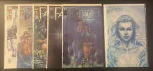 Fathom Lot 1,8,10,11,13 Michael Turner Image Top Cow Comics 1998 Vol 1 NM