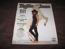 ROLLING STONE #545 FEBRUARY 9 1989 - JON BON JOVI - ROCK'S YOUNG GUN IN VGC
