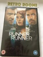 Runner Runner (DVD, 2014) New & Sealed - Available @ Retro Room 1982