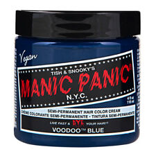 Voodoo Blue Manic Panic Vegan 4 Oz Hair Dye Color