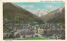 Partial View of Wallace Id Postcard