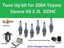 Tune Up Kit for 2004 Toyota Sienna V6 3.3L Air Filter, Oi Filter, Fuel Filter, P