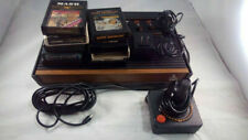 Atari 2600 Console Bundle with 9 Games | FREE SHIPPING