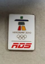 2010 VANCOUVER RESEAU DES SPORTS RDS MEDIA OLYMPIC WINTER GAMES PIN