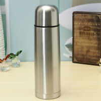 500ml Stainless Steel Vacuum Thermos Flask Insulated Cold Water Bottle Xmas