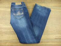 Seven7 Jeans Womens Size 29 Embellished Boot Cut Dark Wash Jeans