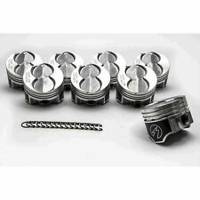 Ford 351W/5.8 Speed Pro Hypereutectic Coated Flat Top Pistons Set/8 STD w/rings