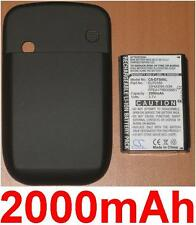 Case+Battery 2000mAh for HTC Touch P3450