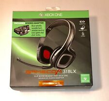 Plantronics Gamecom 318 XBOX ONE Includes Stereo Adapter NEW & FACTORY SEALED