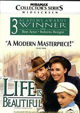 Life Is Beautiful (Dvd, 1988) Miramax Collector's Series