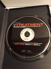 In Treatment Season 3 Disc 3 (DVD, 2011, HBO) Ex-Library Replacement Disc