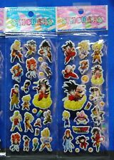 Dragonball Z Stickers 2 Sheets So Cool Set # 2 Goku Vegeta Bulma Bardock