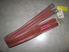 """EquiRoyal Leather Girth  --ANTI-CHAF  --CHESTNUT  --40""""  --NWT"""