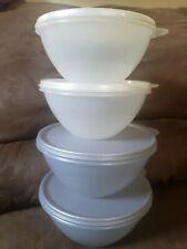 tupperware wonderlier bowls Set Of 4 New