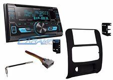 NEW KENWOOD DOUBLE 2 DIN CAR STEREO RADIO & USB & AUX & SIRIUS XM & INSTALL KIT