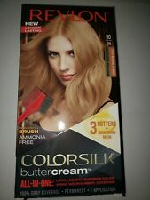 Revlon Colorsilk Buttercream Hair Color Ammonia Free 90 81N Light Natural Blonde
