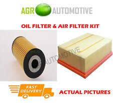 DIESEL SERVICE KIT OIL AIR FILTER FOR VOLKSWAGEN CRAFTER 35 2.5 136 BHP 2006-