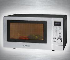 1350 Watt Microwave Grill Hot air 20 Liter Cooking chamber Lighting Bomann MWG