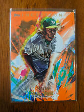 2020 Topps Inception A.J. Puk RC Orange #/50