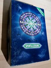 WHO WANTS TO BE A MILLIONAIRE - SPORT & LEISURE. COMPLETE GOOD CONDITION