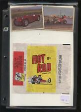 HOT ROD Donruss  card Wrapper  Authentic original W*