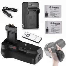 BG-E8 Battery Grip + 2x LP-E8 Battery + Charger for Canon 550D 600D T3i T4i T5i