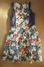 Gorgeous Floral occasion prom Dress Girl  10-11 Years Excellent Condition