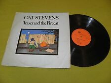 Cat Stevens - Teaser And The Firecat - RARE 1971 Israel Different Pressing LP
