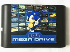 Everdrive Sega Megadrive Genesis Carro De Flash 32X +8Gb Sd Carro Cartucho edmd