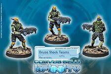Infinity BNIB Mercenaries - Druze Shock Troops (Spitfire)