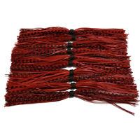 10pc Baitfish Silicone Skirt For SpinnerBait jig Skirt Banded Fishing Skirts 003
