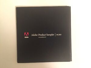 Adobe Product Sampler CD | 04.2001 (Mac and Windows)