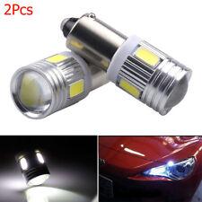 2 x BA9S T4W H6W 363 White LED 5630 6 SMD Car Wedge Side Light Width Lamp