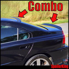 SpoilerKing Rear Roof Spoiler & Trunk Wing Combo (284R/301G) Volvo S60 2001-09