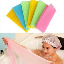 Exfoliating Nylon Bath Shower Body Cleaning Washing Scrubbing Towel Scrubbers
