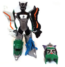 """Power Rangers JUNGLE FURY 3.75""""  Megazord robot toy figure with Clip on Armour"""