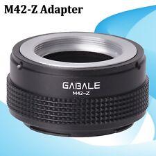 GABALE M42-Z Mount Lens Adapter Ring Connector For Nikon Z Mount Z6 Z7 Camera