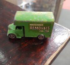 MATCHBOX LESNEY BEDFORD REMOVALS SERVICE TRUCK