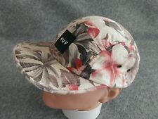 HUF Men's Multicolor Floral 5 Panel Made in USA Strapback Cap Hat One Size