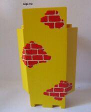 Lego 2345pb02 Castle Panel 3x3x6 Château Yellow Jaune 6276 Eldorado Fortress MOC