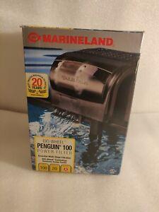 MarineLand Penguin 100 GPH BIO-Wheel Multi Stage Power Filter up to 20 Gallons