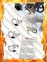 testina piombata OMTD OJ500 T genius tungsteno wacky rig black blass antialga