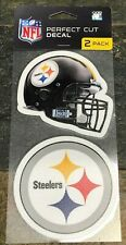 Perfect Cut Decals - Two Pack - Best Quality - Great Color - Pittsburgh Steelers