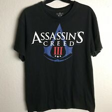 Assassin's Creed III t-shirt Size M black